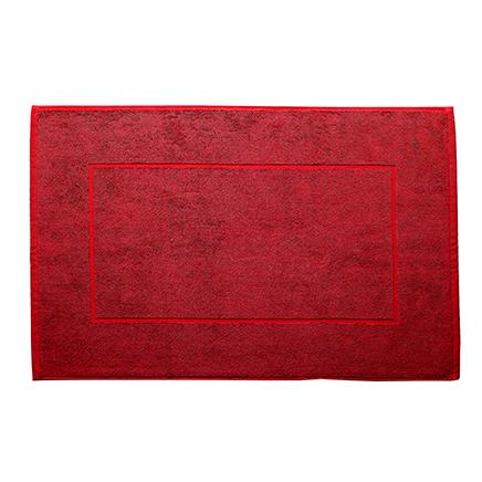 Badematte rød