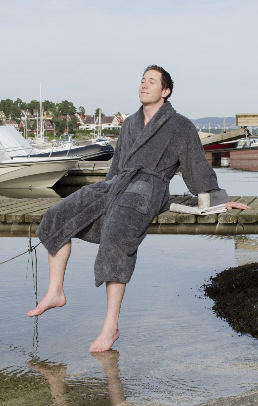 Nord badekåper kvalitet tykke rause myke gode miljø