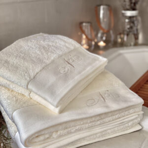 Nord klassisk håndklær hvit miljø
