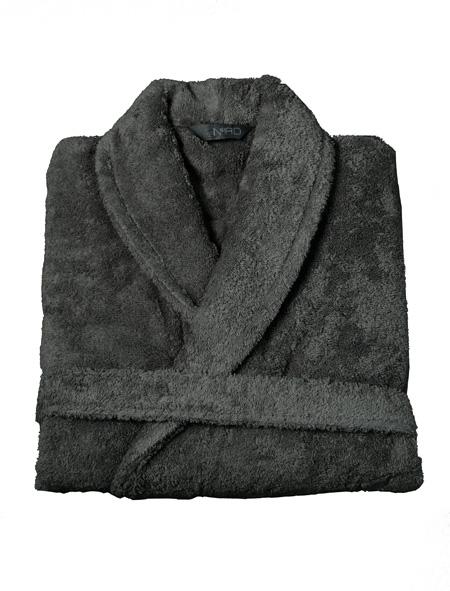 Nord badekåper kvalitet tykke rause myke gode mørk grå