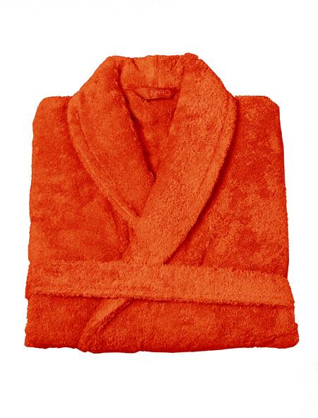Nord badekåper kvalitet tykke rause myke gode varm orange oransje