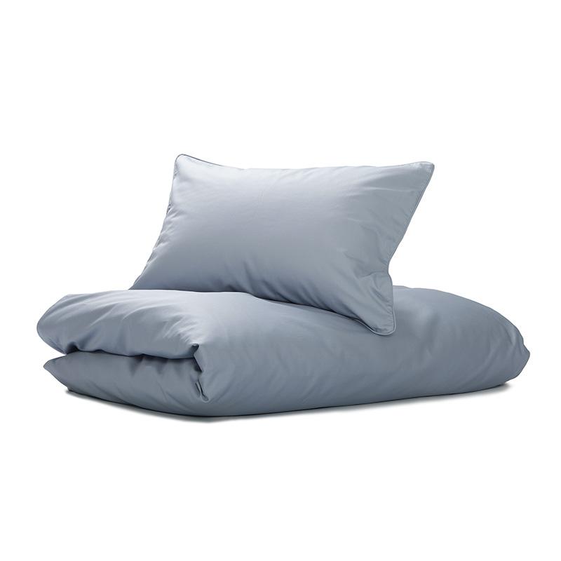 Nord Sateng sengetøy, sengesett av høy kvalitet i klassisk norsk design askeblå