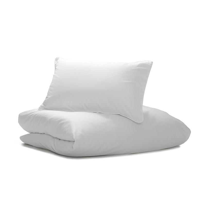 Nord Sateng sengetøy, sengesett av høy kvalitet i klassisk norsk design hvit